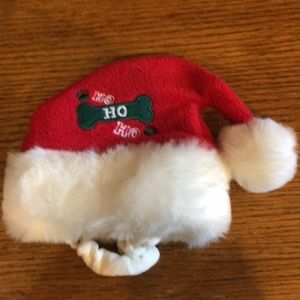 Old navy Santa hat for ur small cat or dog